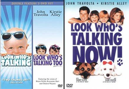 Talking Baby Crazy 3 Feature Film Bundle: Look Who's Talking/ Look Who's Talking Too /Look Who's Talking Now John Travolta Comedy 3-Pack DVD