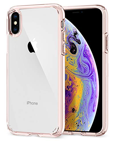 Spigen Ultra Hybrid Designed for iPhone Xs (2018) / Designed for iPhone X (2017) - Rose Crystal