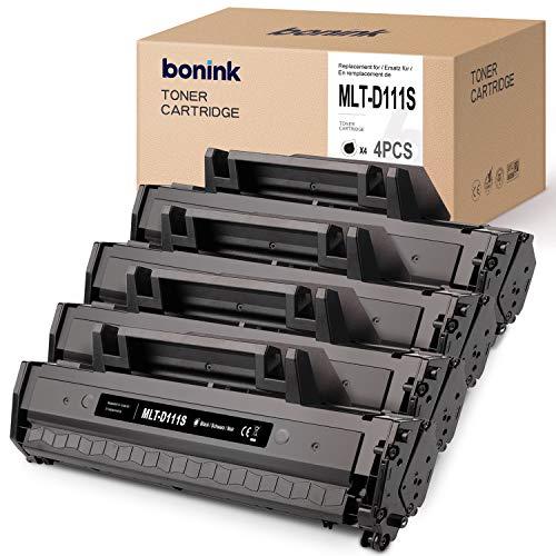 BONINK Compatibili Samsung MLT-D111S Cartuccia del Toner per Samsung Xpress M2026W M2020W M2070 M2022 M2020 (4 Nero)