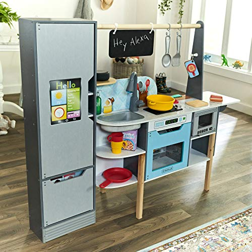 KidKraft Alexa Enabled 2-in-1 Kitchen & Market