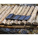 PowerLocus Solar Charger - [4 Efficient Panels] USB-C 24000mAh Waterproof Solar Battery Charger for Emergency, Portable…