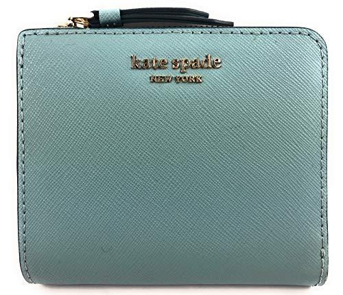 Kate Spade New York - Portafoglio in pelle Saffiano con cerniera a L