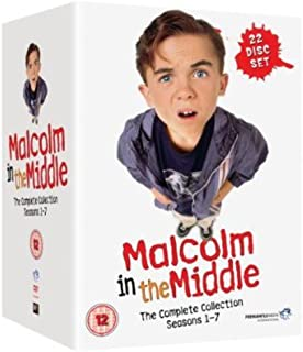 Malcolm in the Middle: Complete Collection Region2 Requires a Multi Region Player