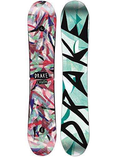 Drake Damen Freestyle Snowboard Charm 139 2018