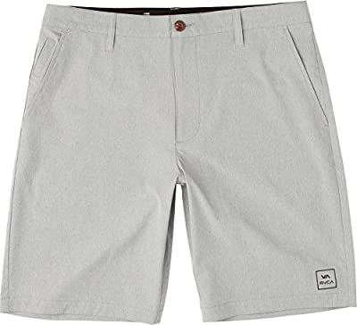 RVCA Men's All The Way Hybrid Short Monument 30 from RVCA