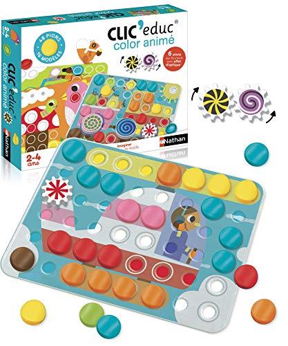 Nathan - Clic educ Color animé - Jeu dapprentissage des coul