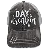r2n fashions Day Drinking - Gorra para Mujer, Color Negro
