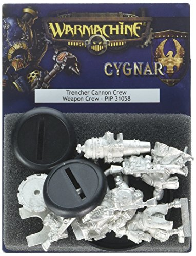 Privateer Press Warmachine: Cygnar Trencher Cannon Crew Model Kit