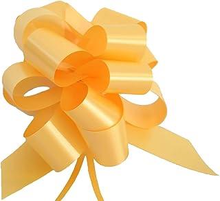 fiocchi colorati e accattivanti fiocco regalo resistente alle intemperie Zoe Deco Archi regalo colori multipli, 22,9 cm // 9 di larghezza, 24 anelli, 5 pezzi fiocchi per regali