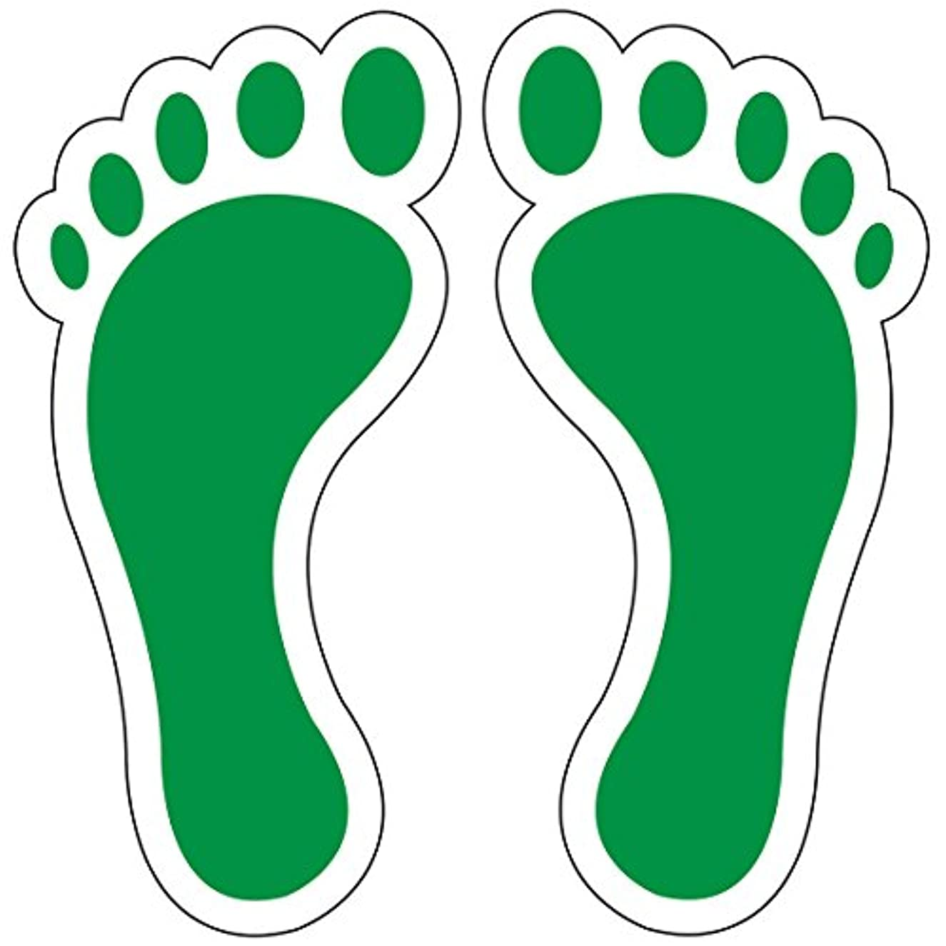 Sticker Pup Pararescue Jolly Green Feet 2 Inch Stickers
