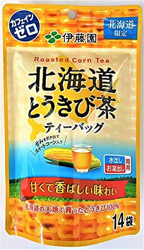 お茶 伊藤園 北海道 とうきび茶 ティーバッグ 1袋 14パック入り 1袋 とうもろこし 茶 水出し お湯出し コーン 北海道限定