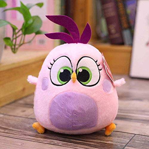 ASDFGHJ Little Bird Angry Cute Bird Doll Almohada para Muñecas De Peluche, 20Cm Y 10Cm Rosa 20cm
