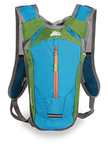 Marsupio® Calypso 6 L Sac à Dos de Vélo et Courir (6L Jogging VTT Nylon 225 g)