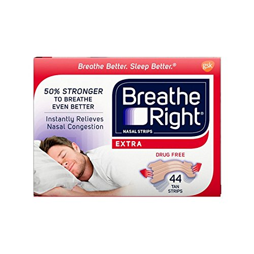 Breathe Right Extra Tan Drug-Free Nasal Strips for Nasal...