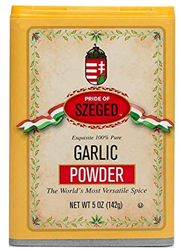 Szeged Garlic Powder - 2 (two) 5oz Tins