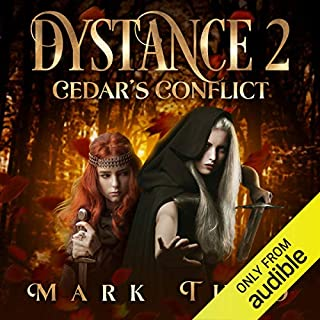 Cedar's Conflict     Dystance, Book 2              Written by:                                                                                                                                 Mark Tufo                               Narrated by:                                                                                                                                 Sean Runnette                      Length: 10 hrs and 59 mins     4 ratings     Overall 5.0