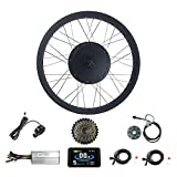 Best Electric Bike Conversion Kits - Ricetoo 48V 1500W Snow Bike/Fat Tire Electric Bicycle Review