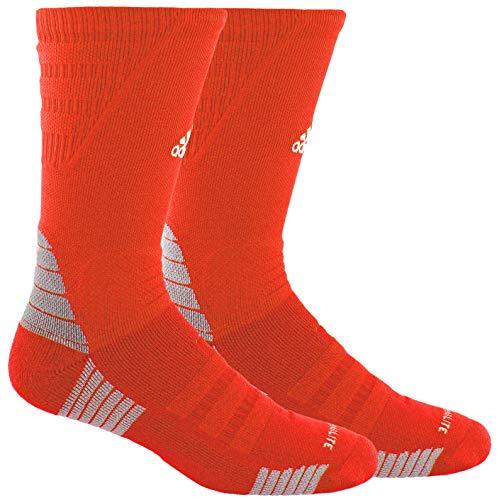 Orange Adidas Socks