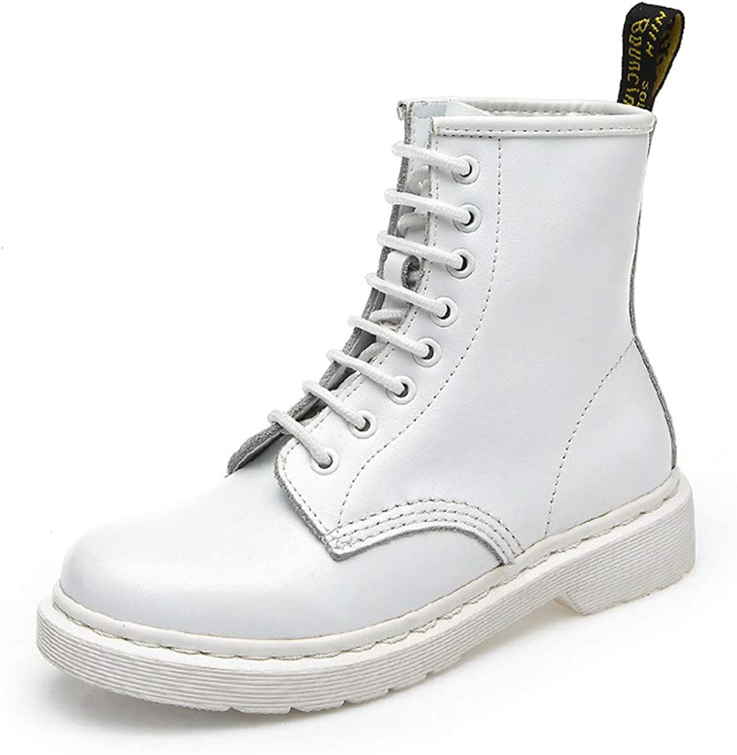 FORTUN Martin Boots British Wind Short Boots Flat shoes Retro Bare Boots