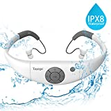 Tayogo Waterproof Mp3 Player Earphones,Tayogo 2017 Upgraded 8GB Swimming Headset Under Water Music