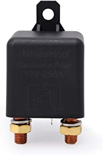 12V 250A Continuous Relay Duty 5 Pin SPDT ON//OFF Power Switcher Car Truck Boat