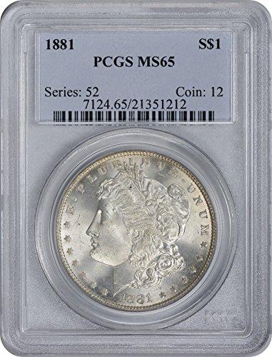 1881 Morgan Silver Dollar MS65 PCGS