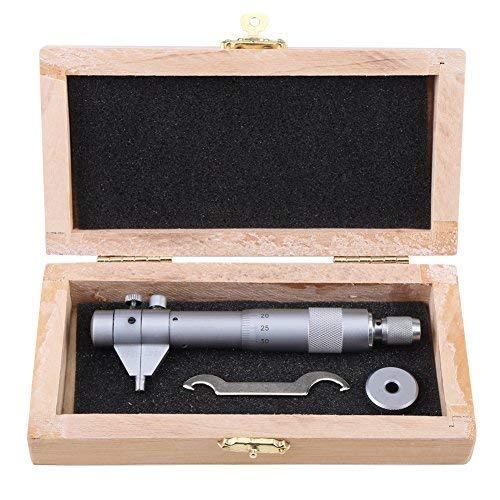 TOPINCN - Micrómetro de Interiores de Alta Precisión para Orificios de Objetos, Rango de Medida de 5 a 30mm Precisión 0,01 mm