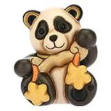 THUN - Panda Libra - Linea Oroscopo - Formato Piccolo - Ceramica - 6,4x5,7x7,5 h cm
