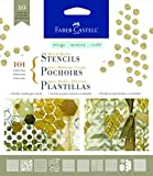 Faber-Castell Mixed Media Paper Stencils (101 - Graphic)