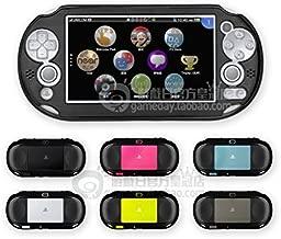 Szjay Metal Aluminum Metallic Protection Hard Case Cover for Playstation Ps Vita 2000 Slim (Black)