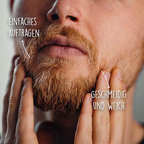 Bartöl geruchsneutral - Bartpflege Öl für einen Weichen Bart  Abbildung 3