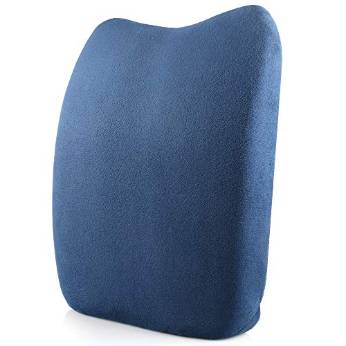 jklj Car Seat Cushion Back Support Seat Cushion Office Car Sitting Pregnancy Travel Driving Seat Cushion Seat Cushion Comfort Memory Foam Orthopedic Chair Pillow Suitable for Driver's Office Staff
