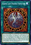Yu-Gi-Oh! - Harpie Lady Phoenix Formation - LED4-EN010 - Legendary Duelists: Sisters of the Rose - 1st Edition - Common