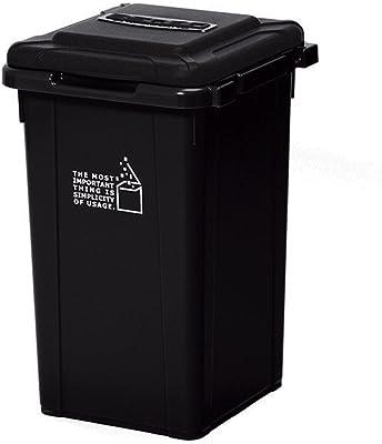 サンコープラスチック 日本製 ジョイント式 ゴミ箱 ビスダボ 33L ブラック 451576