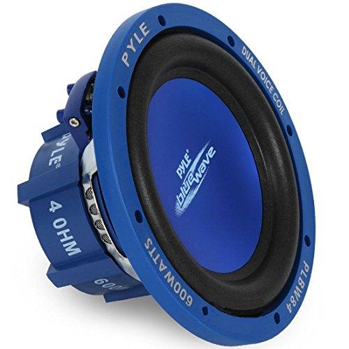 PYLE PLBW84 Sub subwoofer Coche Azul de...