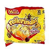 Vero Caramelo Mexicano Rellenerindo Mango   30 Piezas   Sabor Mango