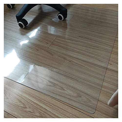 LSSB Claro/Transparente PVC Estera Protección Suelo Resistente a Los Arañazos Absorbente de Sonido Protector de Mesa a Prueba de Agua Mantel Libre de Wash para Casa Mesa de Noche Gabinete de TV Cocina
