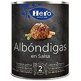Hero Platos Caseros Albóndigas en Salsa con Guisantes, 430g