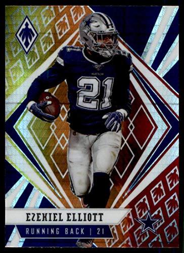 2020 Panini Phoenix Fire Burst #49 Ezekiel Elliott Dallas Cowboys (Silver Prizm Refractor) NFL Football Card NM-MT