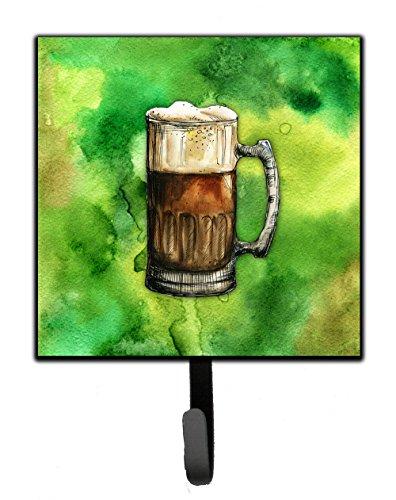 Caroline tesoros del bb5761sh4irlandés cerveza taza correa o titular de la clave, 7hx4.25W, multicolor