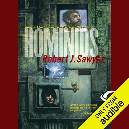 Hominids audiobook cover art