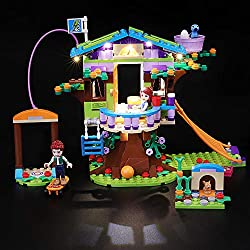 Designed for Lego 41335,with this light kit, you can bring your Friends Heartlake Mia's Tree House from dark to bright, make it come to life. Please note that only LED light set. All LEGO sets showed in images and videos are not included. Package con...