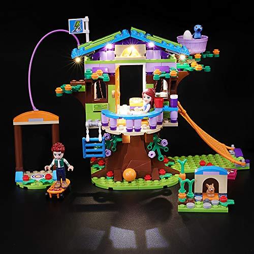 BRIKSMAX Kit di Illuminazione a LED per Lego Friends la Casa sull'Albero di Mia, Compatibile con Il Modello Lego 41335 Mattoncini da Costruzioni - Non Include Il Set Lego