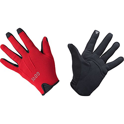 GORE Wear, Guantes transpirables de ciclismo, Unisex, C3 Urban Gloves, Talla: 8, Color: Rojo, 100118
