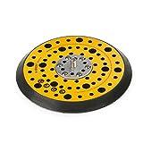 Plato de lija para lijadora excéntrica Festool Bosch Makita Mirka, diámetro de 150mm, rosca de conexión de 7,93 mm, multiperforaciones, incluye almohadilla de protección