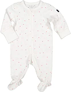Polarn O. Pyret Kitty Print ECO Pajamas (Newborn)
