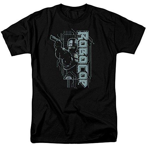 Unisex Robocop Murphy Split Adult T Shirt, S to 5XL