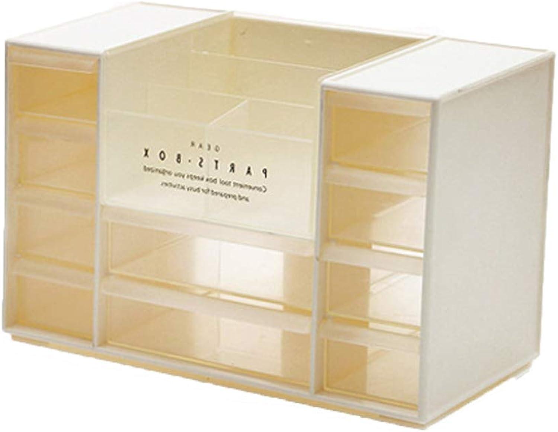 WiYi Kosmetik Organisator Makeup Lagerung Wohnzimmer Badezimmer Badezimmer Badezimmer Wasserdicht Multifunktional Schubladentyp Schmuck Kosmetiketui,Weiß B07LGYBMFV 392424