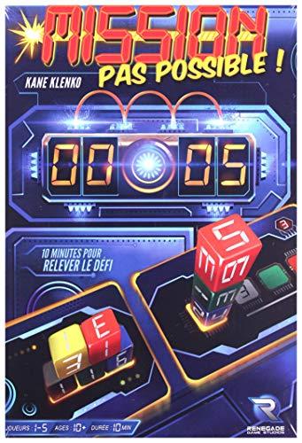 Renegade Game Studios - Mission Pas Possible - Jeu d'Ambiance - Version Française