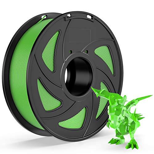 E-DA ABS Filament 1.75mm 1kg Spool 3D Printer Filament 3D Printing Materials Dimensional Accuracy +/- 0.05mm Green